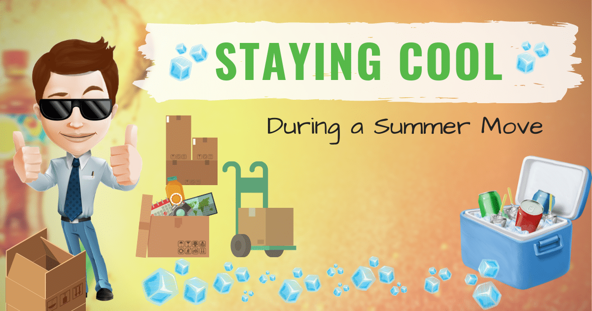 Stay cool during a summer move | Colonial Van Lines