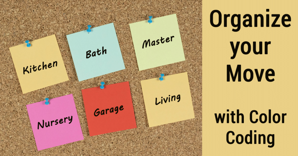 Organize your Move with Color Coding
